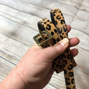 Target Accessories - Animal print belt, size small